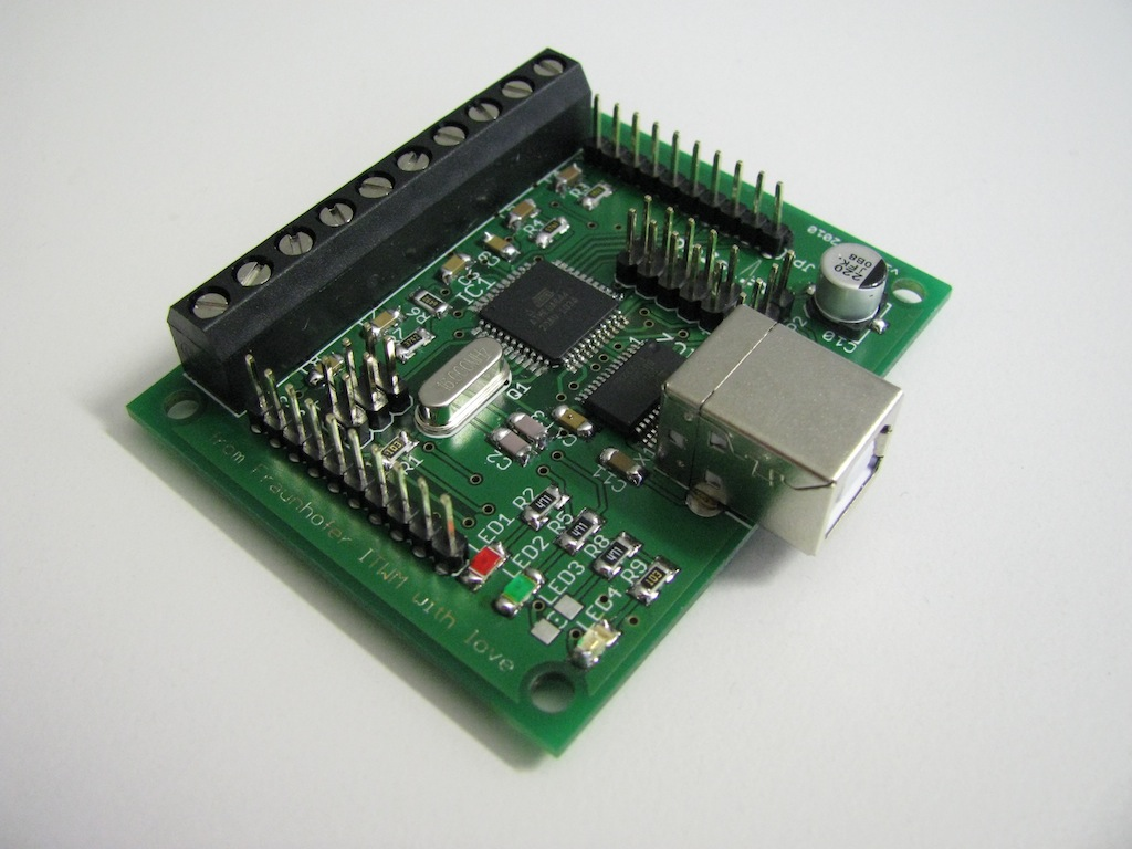 Flukso USB development board
